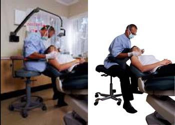 The benefits of using a HÅG Capisco Chair in dentistry