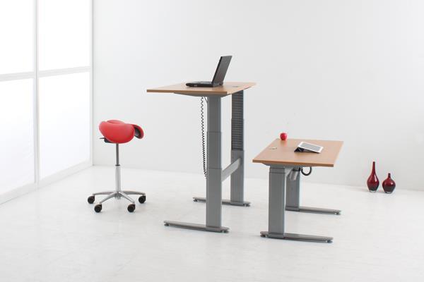 ConSet range of height adjustable desks