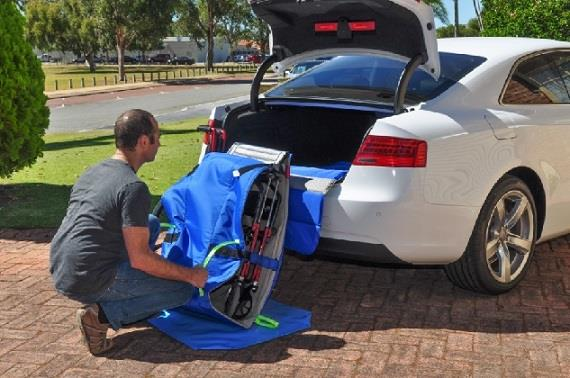 """Wheelchair Boot Slider 