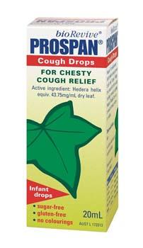 Infant Cough Drops | PROSPAN DROPS