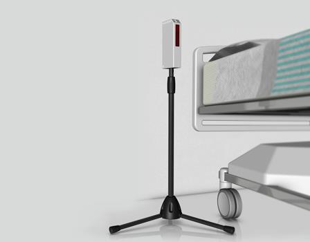 Patient Bed Monitor | Free Standing - INVISA-BEAM®