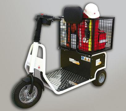 Battery Electric Stand-On or Sit-On Tug | Skatework Australia