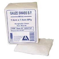 Livingstone Gauze Swabs
