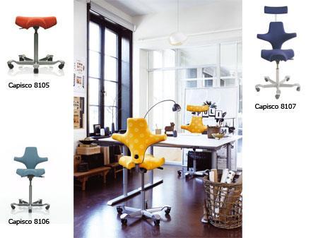 Sonographer Chairs | HÅG Capisco - Inspire Active Sitting