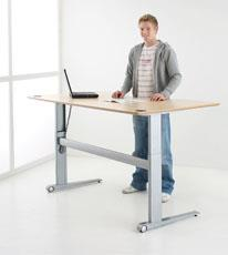 Electric Height Adjustable Desks | ConSet 501-17