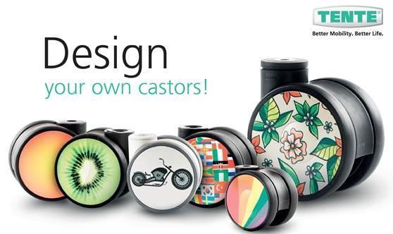 Custom Design Castors and Wheels