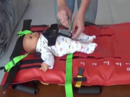 Pediatric Restraint System for Emergency Transport | EZS-10